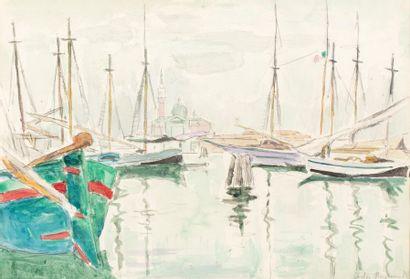 Carlos REYMOND (Paris 1884-Nice 1970) San...