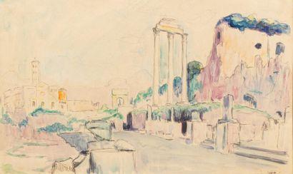 Carlos REYMOND (Paris 1884-Nice 1970) Rome,...