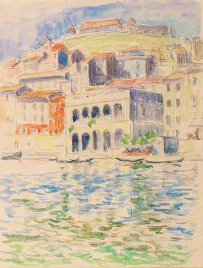Carlos REYMOND (Paris 1884-Nice 1970) Italian...