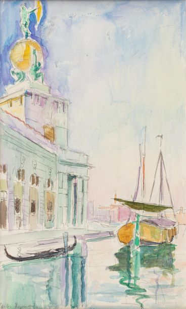Carlos REYMOND (Paris 1884-Nice 1970) Venice,...