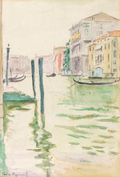 Carlos REYMOND (Paris 1884-Nice 1970) Venice...