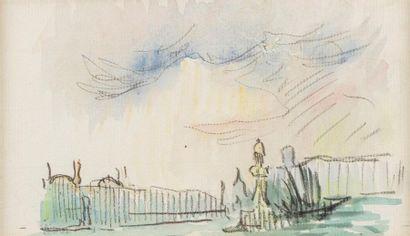 Henri PERSON (Amiens 1876- Paris 1926) Venice...
