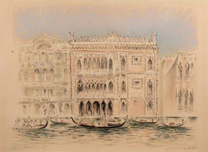 André HAMBOURG (Paris 1909- 1999) Venise,...