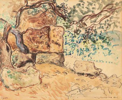 Lucien MAINSSIEUX (Voiron 1885 - 1958) Tipaza,...