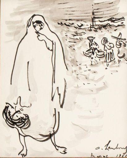André HAMBOURG (Paris 1909 - 1999) Morocco,...