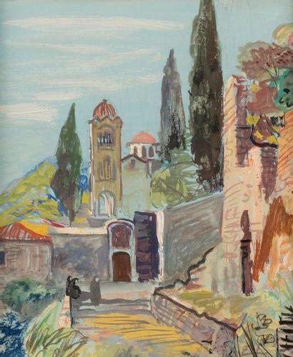 EDY LEGRAND (Bordeaux 1892-Bonnieux 1970)...