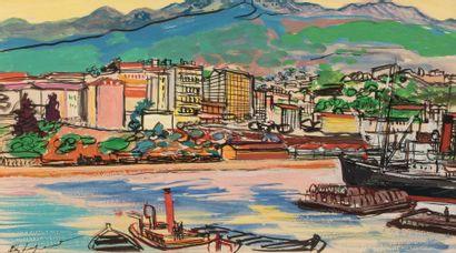EDY-LEGRAND (Bordeaux 1892 - Bonnieux 1970...