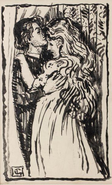 Georges LEMMEN (Schaerbeck 1865-Uccle 1916)...