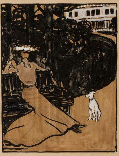 Jean Emile LABOUREUR (Nantes 1877 - Kerfalher...