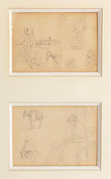 Louis Alexandre DUBOURG (Honfleur 1821-1892)...