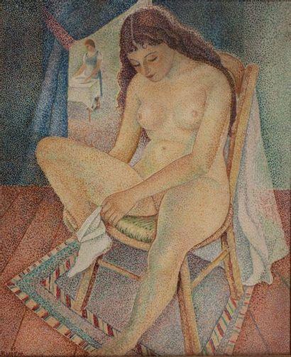 Marie VOROBIEFF MAREVNA (1892-1984) Toilette...