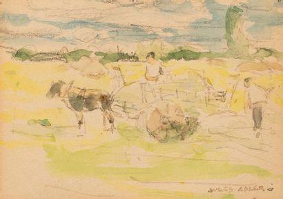 Jules ADLER (Luxeuil les Bains 1865- Nogent...