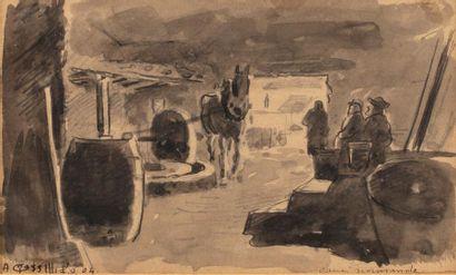 Augustin GRASS-MICK (Paris 1873-1963) Cave...