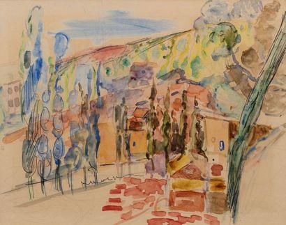 Michel KIKOINE (Rechytsa 1892- Cannes 1968)...