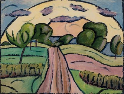 Attribué à Vladimir BARANOFF-ROSSINE (1888-1944)...