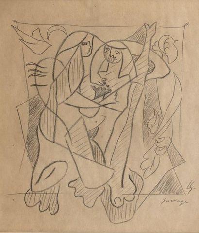 Léopold SURVAGE (Moscou 1879 - Paris 1968)...