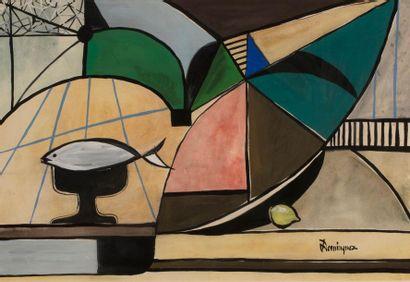 Oscar DOMINGUEZ (Laguna 1906-Paris 1957)...