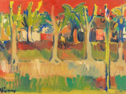 Sylvain VIGNY (Vienne 1903 - Nice 1971) Paysages...