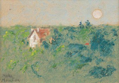Marc MOUCLIER (Aigre 1866 - Paris 1848) Maison...