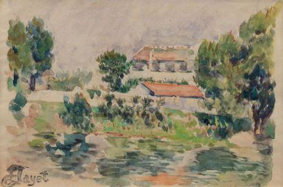 Louis HAYET (Pontoise 1864 - Cormeilles en...