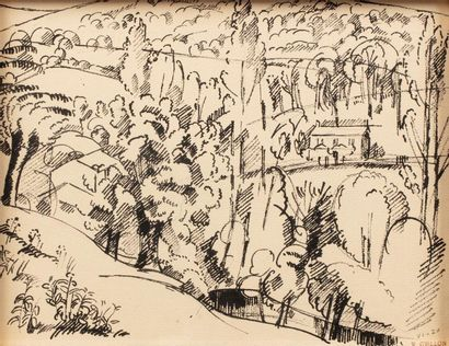 Roger GRILLON (Poitiers 1881 - Maule 1938)...