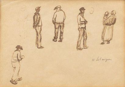 Henri LEBASQUE (Champigné 1865 - Le Cannet...