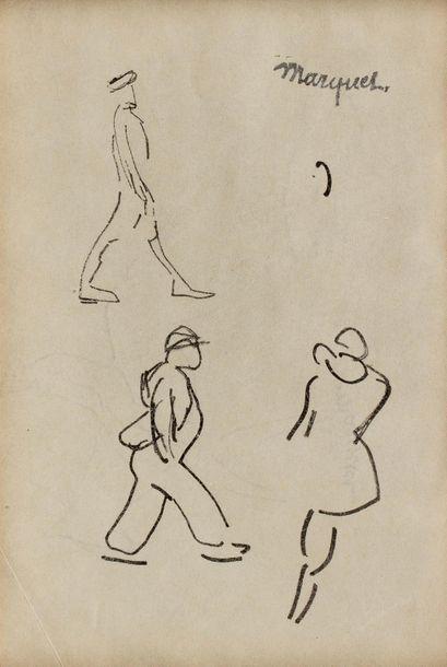 Albert MARQUET (Bordeaux 1875 - Paris 1947)...