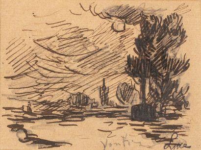 Maximilien LUCE (Paris 1858 - Rolleboise...