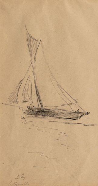 Attribué à Albert Marie LEBOURG (1849 -1928)...