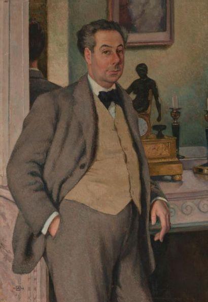 Theo VAN RYSSELBERGHE (Gand 1862- Saint Clair...
