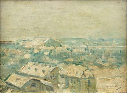 Gustave MADELAIN (Charly 1867 - 1944) Vue...