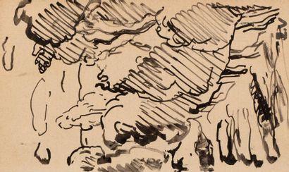 Louis VALTAT (Dieppe 1869 - Paris 1952) Paysage...