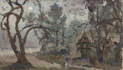 Emmanuel de LA VILLEON (Fougères 1858- Paris...