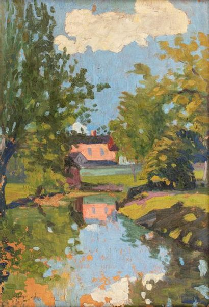 Henry DANNET (1886-1946) Composition, 1957...