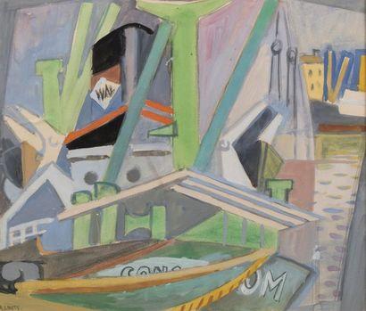 André LHOTE (Bordeaux 1885- Paris 1962) Le...