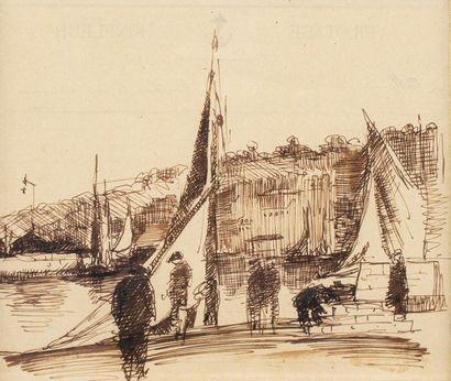 Paul-Elie GERNEZ (Valenciennes 1888 - 1948)...