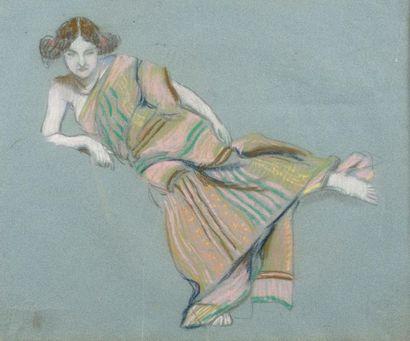 Ludovic RODO - PISSARRO (1878-1952) Femme...