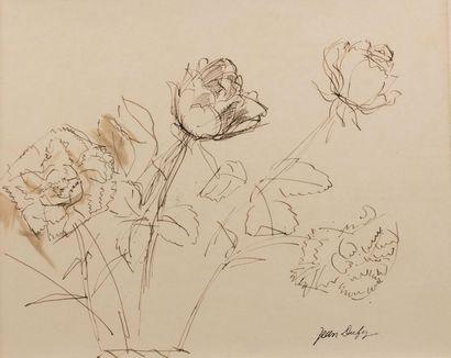 Jean DUFY (Le Havre 1888- Boussay 1964) Jetée...