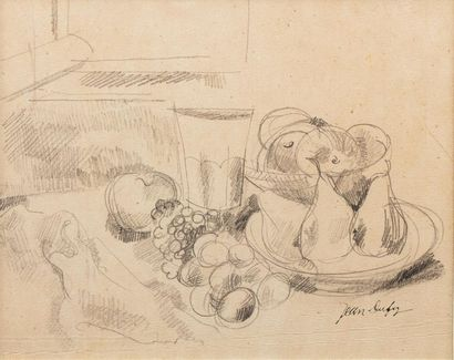 Jean DUFY (Le Havre 1888- Boussay 1964) Composition...