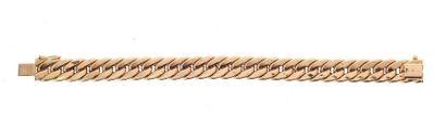 Bracelet en or jaune (750 millèmes)