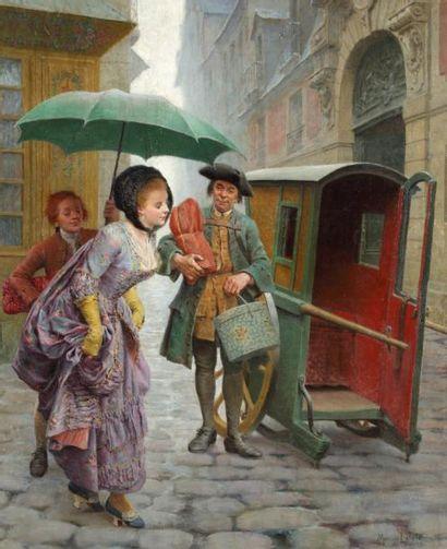 Maurice LELOIR (Paris 1853-1940)