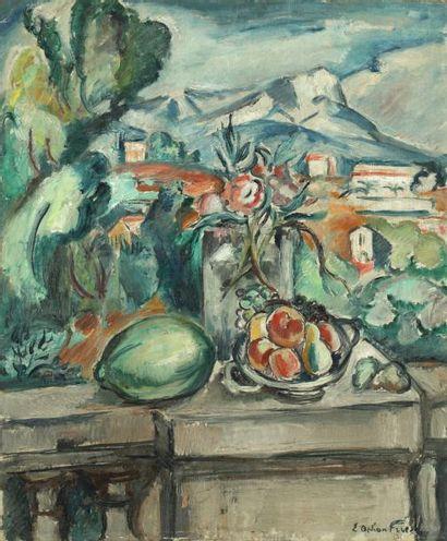 Emile Othon FRIESZ (La Havre 1879-Paris 1949)