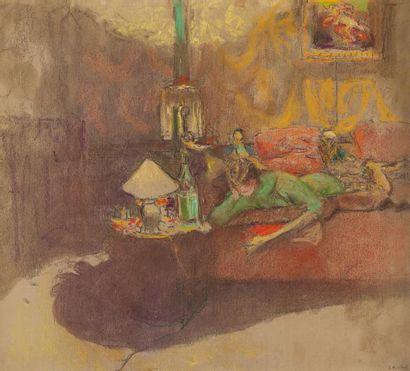 Edouard VUILLARD (Cuiseaux 1868-La Baule 1940)