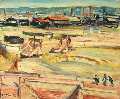 Emile Othon FRIESZ (Le Havre 1879- Paris 1949)