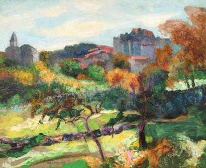 Victor CHARRETON (Bourgoin 1864 - Clermont - Ferrand 1936)