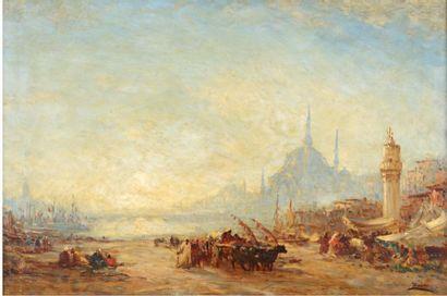 Felix ZIEM (Beaune 1821-Paris 1911)