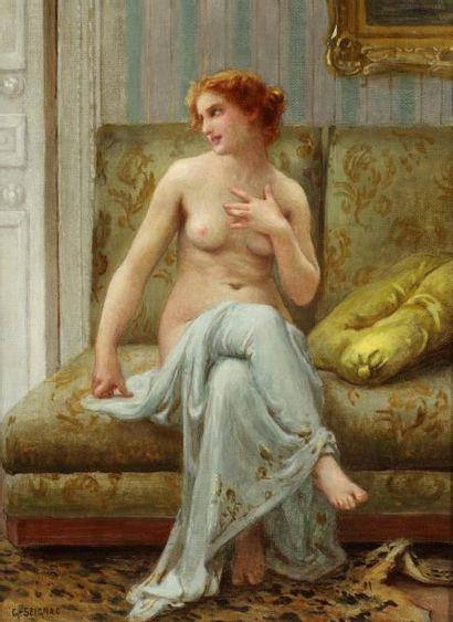 Guillaume SEIGNAC (Rennes 1870-Paris 1924)