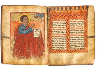 Évangéliaire de Dabra Talmâ XVIe siècle Évangéliaire...