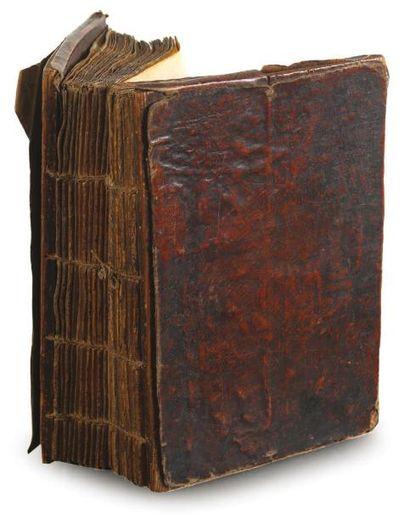 Psautier XIXe siècle Psautier enluminé, sur...