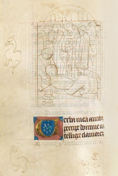 Heures enluminées à l'usage de Limoges Limoges,...